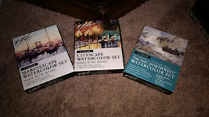 Watercolor sets 3 for $190 or $60 each