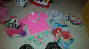 Diaper bag and clothes 12 to 18 month