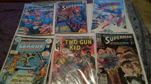 DC comic collection all for 180 or half for 100 superman wonder.