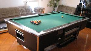 Billiard Pool Table.