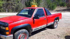 1995 chev 4x4 PART OUT