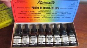 Kit de retouche photos Marshall's, 8 couleurs, Groupe 3