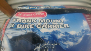Swiss Cargo 3 bike trunk mount carrier