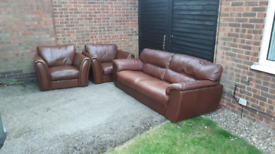 FREE DELIVERY!! IOLINO 3 SEATER SOFA AND 2 ARM CHAIRS