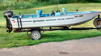 16 foot aluminum fishing boat