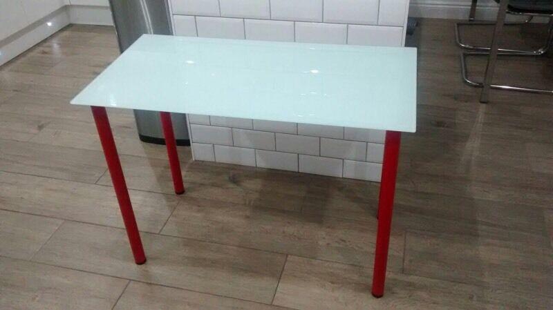 Ikea glasholm desk in waterlooville hampshire gumtree
