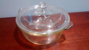 Pyrex Glass Covered Casserole