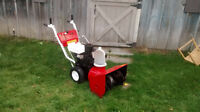 **Craftsman snowblower 7HP 22 inch with electric start