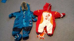 Habit de neige,literie, souliers,...