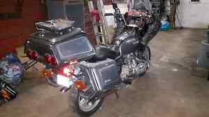 Goldwing BAGGAGE AND FRONT FAIRING
