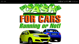 Cars wanted running or not call 07946731101