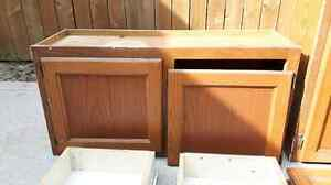 Oak kitchen cabinets and drawers  Cambridge Kitchener Area image 5