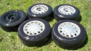 5-205/70/15 WINTER TIRES AND RIMS FOR GM FWD....$200!!