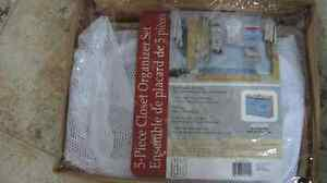 Closet organization set-NEW in package