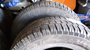 Tires 265 70 R17 set of 4