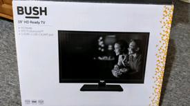 "19"" TV screen Bush"