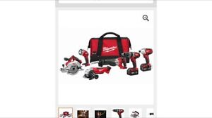Milwaukee tool set 6 pc for trade