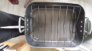 Roasting pan and utensils