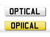 Optical cherished plate