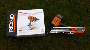 Ridgid air nailer!! Used less the 2 weeks