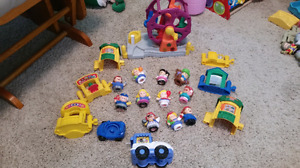 20 piece set fisher price carnival
