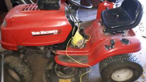 Yard machine lawn tractor