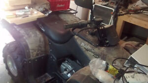 Baja ATV hardly used. Like new