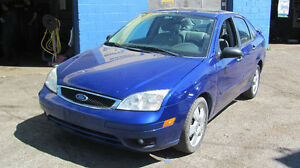 2006 Ford Focus 4 door 5 speed,125000KM,Safety e test