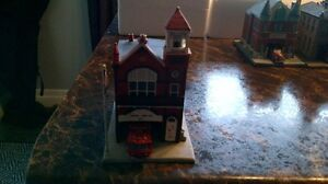 Fire Houses Danbury Mint rare collection complete 8 fire houses London Ontario image 4