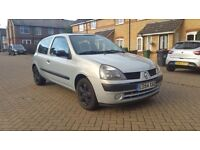 Renault Clio 1.2 16v Expression 3dr MOT FEB 2017 2017 2F KEEPERS