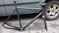 Cyclocross Carbon Frame and Fork, like new