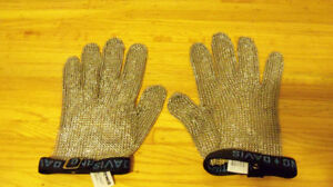 Honeywell Reversable Stainless Steel Mesh Gloves