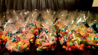 WEDDING CANDY CONES, CANDY FAVORS, 4$