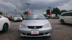 2004 Honda Civic with extremely low km's