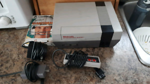 Original Nintendo System With A Controller And Game With Box!