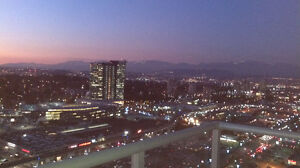 35th Floor! VIEWS! SkyTrain! Walk to Shops, SFU, Hospital.