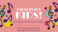 Private Karaoke Party for Children