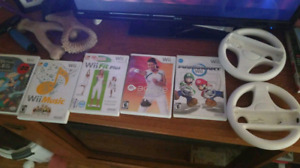 WII Games and Wheels