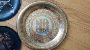 Collection of Vintage Egyptian Walled Plates West Island Greater Montréal image 5