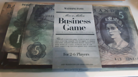 Vintage Mine A Million Business Board Game Waddingtons 1965 COMPLETE R