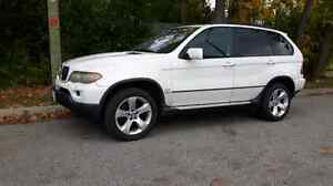 NEED GONE TODAY!! LOADED WHITE 2005 BMW X5 3.0 4X4 LUXURY SUV!!!