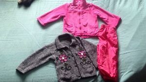 2T Girls Spring/Fall  Jacket & Pants Combo