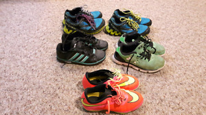 Boys running shoes size 2 up to 3.5