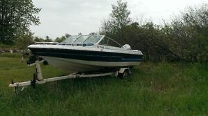 1985 Sport Craft 16' Bow Rider, 115 HP Evinrude Outboard
