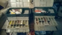 For Sale: Two Large Tackle Boxes