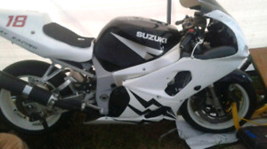 Racing fairing for 2002 gsxr 600 or 750