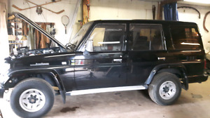 Turbo deisel landcruiser
