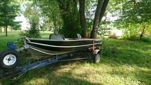 12' aluminum fishing boat