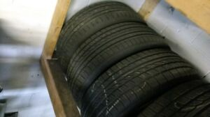 4 x 215/65 R15 Yokohama summer tires great shape
