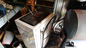 Small Fawcett wood stove in great shape